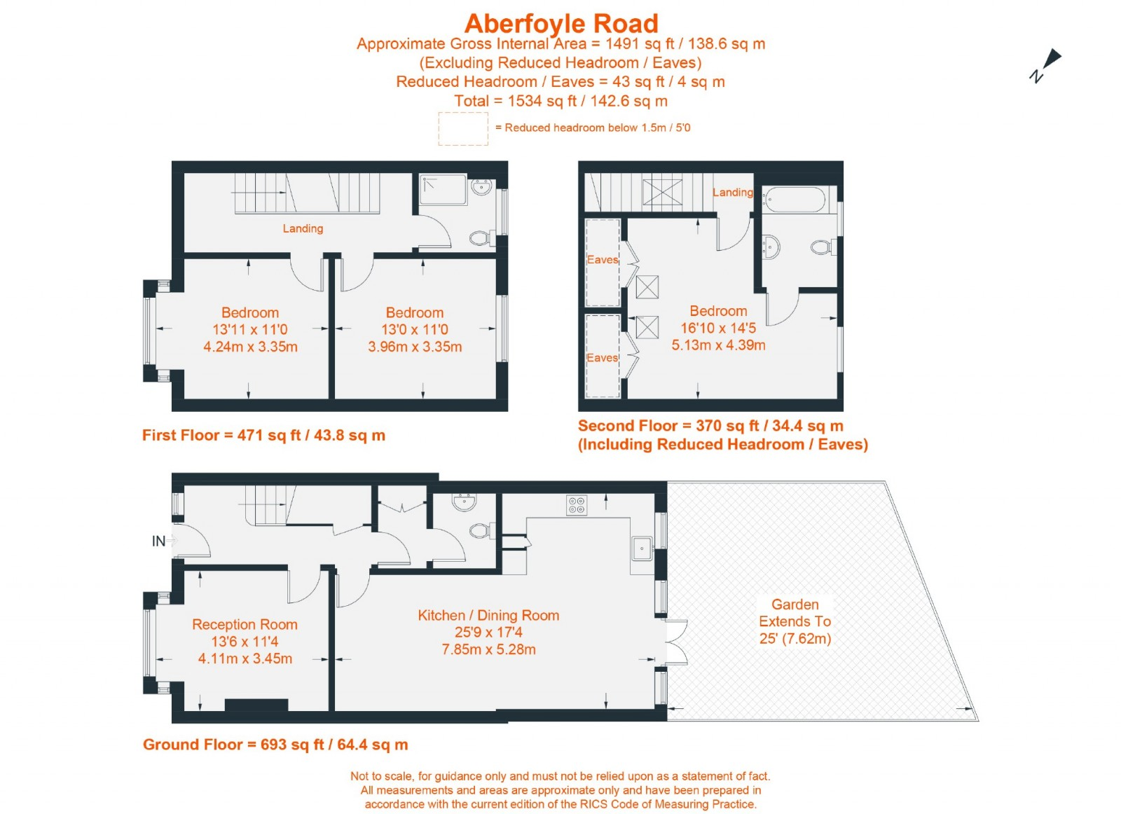 Floorplan for Aberfoyle Road, LONDON