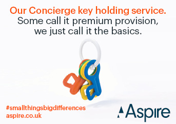 Our Concierge key holding service.